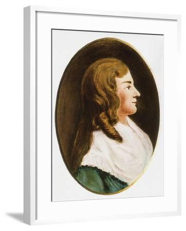 Dorothea Christiane Erxleben, Mid of the 18th C--Framed Giclee Print