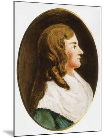 Dorothea Christiane Erxleben, Mid of the 18th C--Mounted Giclee Print
