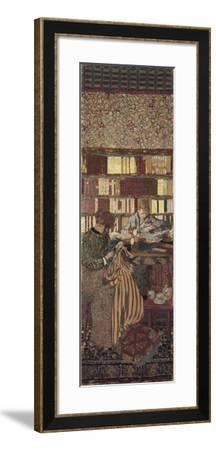 The Privacy. Decoration for the Library of Dr. Vaquez-?douard Vuillard-Framed Giclee Print