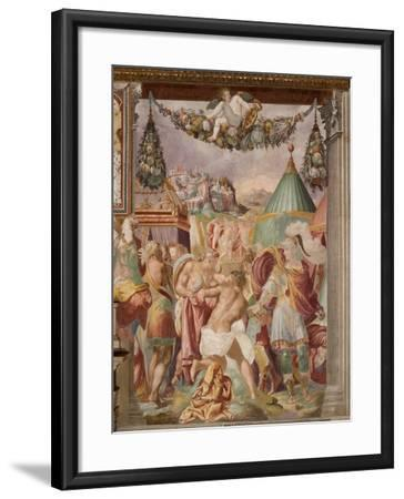 The Punishment of the Treacherous Schoolmaster of Falerii, C. 1544-Francesco de Rossi-Framed Giclee Print