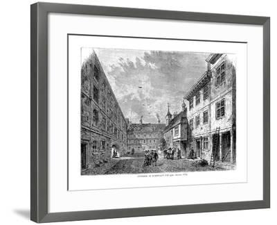 Interior of Furnival's Inn. 1754--Framed Giclee Print