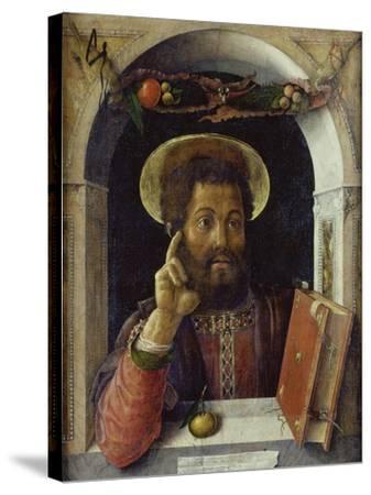 Saint Mark the Evangelist-Andrea Mantegna-Stretched Canvas Print