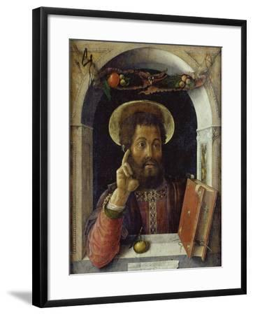 Saint Mark the Evangelist-Andrea Mantegna-Framed Giclee Print