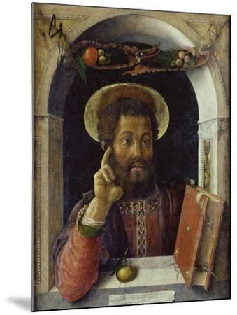 Saint Mark the Evangelist-Andrea Mantegna-Mounted Giclee Print