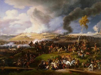 The Battle of Borodino on August 26, 1812-Louis-Fran?ois, Baron Lejeune-Framed Giclee Print