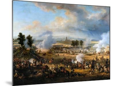 The Battle of Marengo on 14 June 1800-Louis-Fran?ois, Baron Lejeune-Mounted Giclee Print