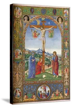 The Crucifixion: with Virgin, Mary Magdalene and St John, 1937--Stretched Canvas Print