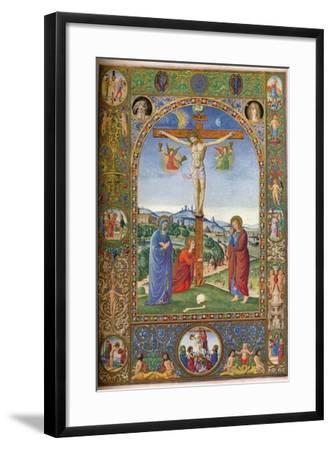 The Crucifixion: with Virgin, Mary Magdalene and St John, 1937--Framed Giclee Print