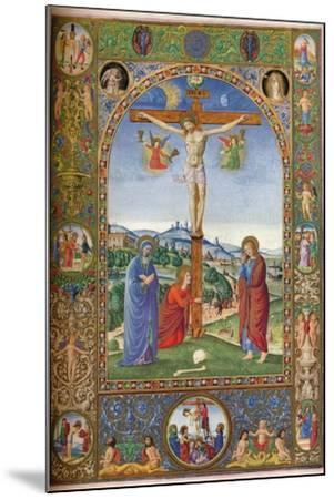 The Crucifixion: with Virgin, Mary Magdalene and St John, 1937--Mounted Giclee Print