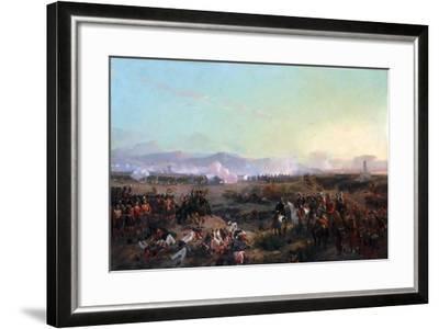 The Battle of the Alma on September 20, 1854-Eugène Louis Lami-Framed Giclee Print