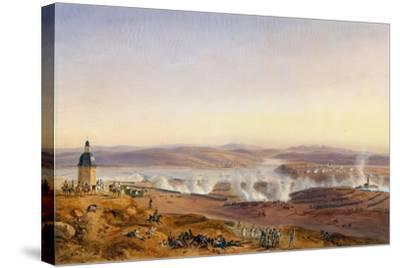 The Battle of Austerlitz on December 2, 1805-Jean-Antoine-Sim?on Fort-Stretched Canvas Print