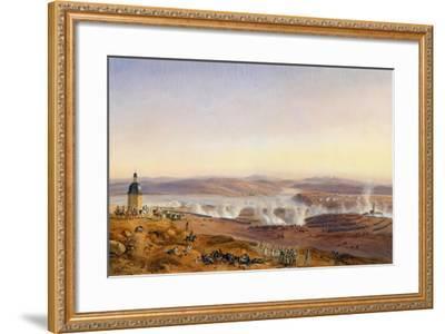 The Battle of Austerlitz on December 2, 1805-Jean-Antoine-Sim?on Fort-Framed Giclee Print