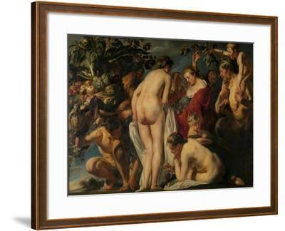 Allegory of Fertility, Ca 1620-1625-Jacob Jordaens-Framed Giclee Print