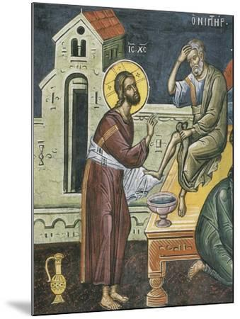 Christ Washing the Feet of the Apostles, 16th Century--Mounted Giclee Print
