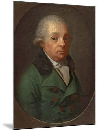 Portrait of Charles Frederick, Grand Duke of Baden (1728-181)--Mounted Giclee Print