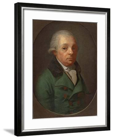 Portrait of Charles Frederick, Grand Duke of Baden (1728-181)--Framed Giclee Print