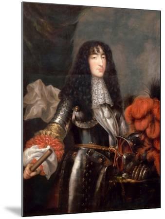 Philippe I, Duke of Orléans (1640-170)-Antoine Mathieu-Mounted Giclee Print