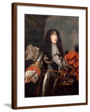 Philippe I, Duke of Orléans (1640-170)-Antoine Mathieu-Framed Giclee Print
