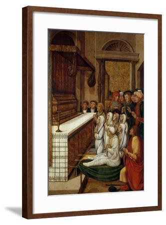 Six Resurrections before the Relics of Saint Stephen-Pere Gascó-Framed Giclee Print