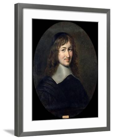 Portrait of Nicolas Fouquet (1615-168)-Jean Édouard Lacretelle-Framed Giclee Print