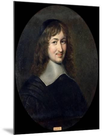 Portrait of Nicolas Fouquet (1615-168)-Jean Édouard Lacretelle-Mounted Giclee Print