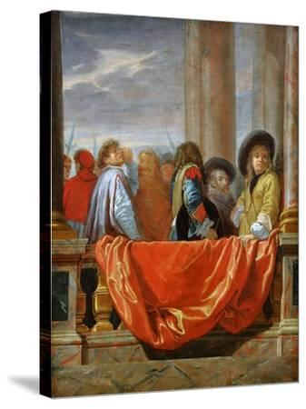 The Different Nations of Europe-Charles Le Brun-Stretched Canvas Print