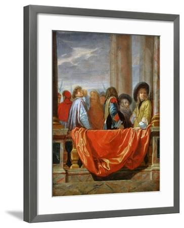 The Different Nations of Europe-Charles Le Brun-Framed Giclee Print
