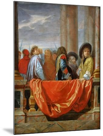 The Different Nations of Europe-Charles Le Brun-Mounted Giclee Print