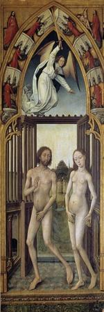Redemption Tryptich: Expulsion from the Paradise-Vrancke van der Stockt-Framed Giclee Print