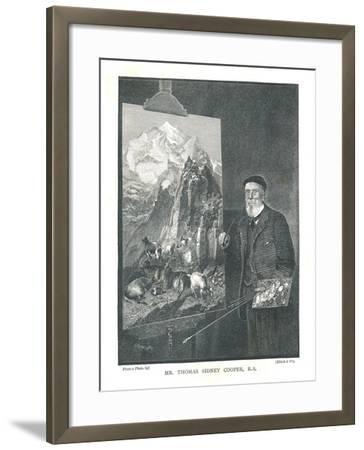 Mr Thomas Sidney Cooper R.A, 1894--Framed Giclee Print