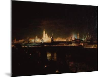 Illumination of the Moscow Kremlin, 1883-Oskar Adolfovich Hofman-Mounted Giclee Print
