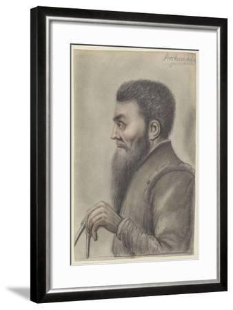 Archimedes, Between 1601 and 1641-Nicolas Lagneau-Framed Giclee Print