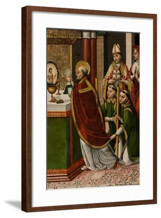 The Mass of Saint Gregory the Great--Framed Giclee Print