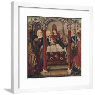 An Altar-Piece by the Maitre De Flemalle, 1907--Framed Giclee Print
