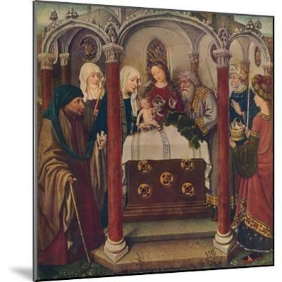 An Altar-Piece by the Maitre De Flemalle, 1907--Mounted Giclee Print