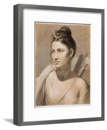 Diana, Second Half of the 18th C-Joseph-François Ducq-Framed Giclee Print