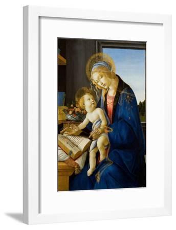 Madonna of the Book (Madonna Del Libr), 1480-Sandro Botticelli-Framed Giclee Print