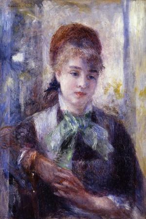 Portrait of Nini Lopez-Pierre-Auguste Renoir-Framed Giclee Print