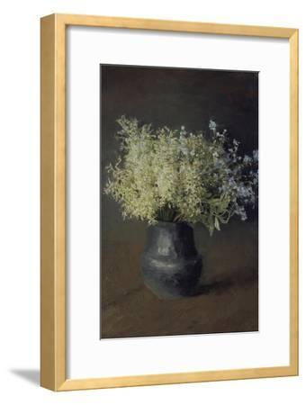 Wild Violets and Forget-Me-Nots, 1889-Isaak Ilyich Levitan-Framed Giclee Print