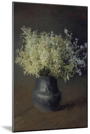 Wild Violets and Forget-Me-Nots, 1889-Isaak Ilyich Levitan-Mounted Giclee Print