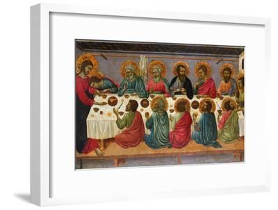 The Last Supper, 1310-1315-Ugolino Di Nerio-Framed Premium Giclee Print