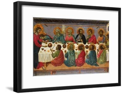 The Last Supper, 1310-1315-Ugolino Di Nerio-Framed Giclee Print