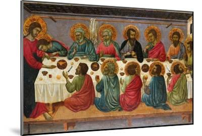 The Last Supper, 1310-1315-Ugolino Di Nerio-Mounted Giclee Print