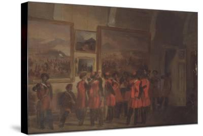 Tsar's Bodyguard of Cossacks in the Winter Palace--Stretched Canvas Print