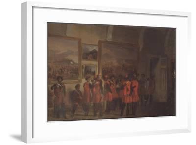 Tsar's Bodyguard of Cossacks in the Winter Palace--Framed Giclee Print