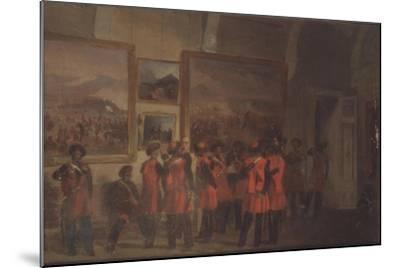 Tsar's Bodyguard of Cossacks in the Winter Palace--Mounted Giclee Print