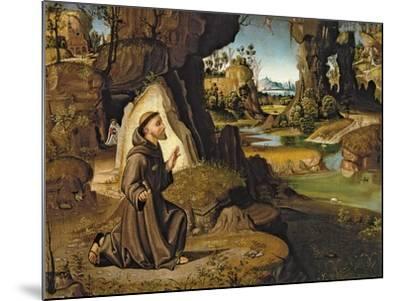 Saint Francis Receiving the Stigmata-Antonio Pirri-Mounted Giclee Print