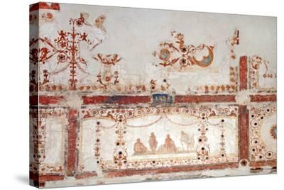 Detail of Decoration in the Domus Aurea in Rome, 64-68 AC--Stretched Canvas Print