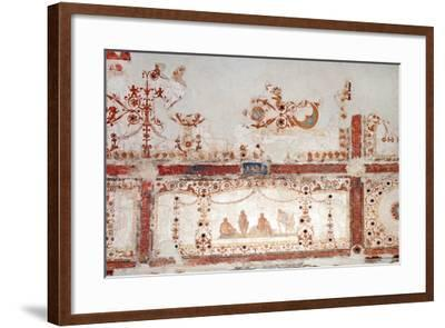 Detail of Decoration in the Domus Aurea in Rome, 64-68 AC--Framed Giclee Print