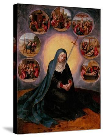 The Virgin of the Seven Sorrows--Stretched Canvas Print